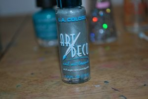 dollar store nail polish art deco