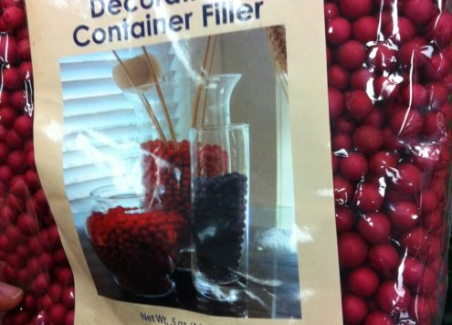 dollar tree vase filler