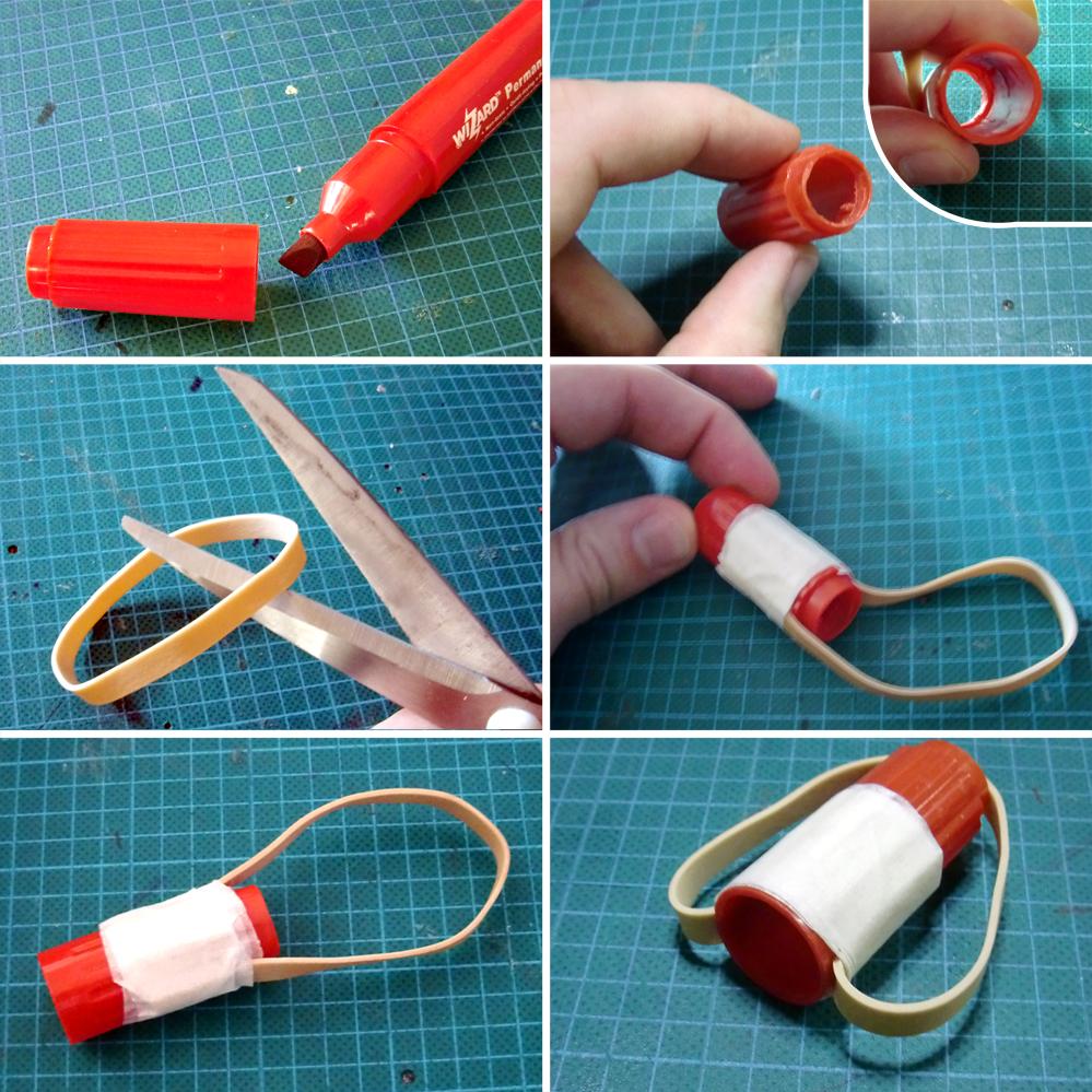 Как сделать ластик своими руками из подручных материалов 11