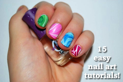 15 nail art tutorials