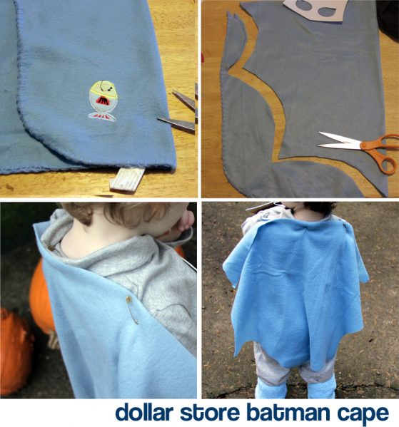 dollar store batman cape tutorial