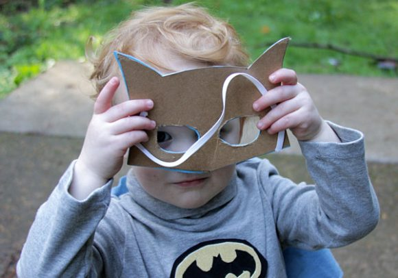 diy batman mask