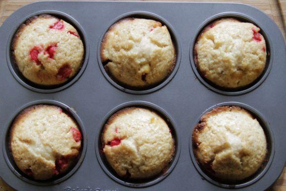 white chocolate raspberry chip muffins