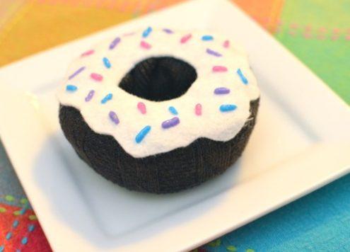 sock donut