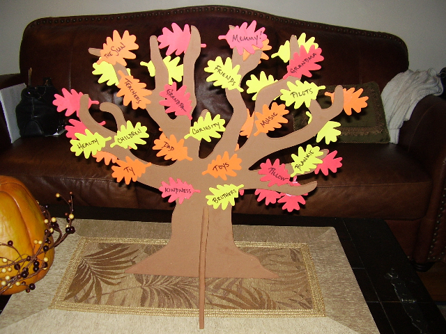 35 last minute ideas for thanksgiving dollar store crafts for Thankful tree craft for kids