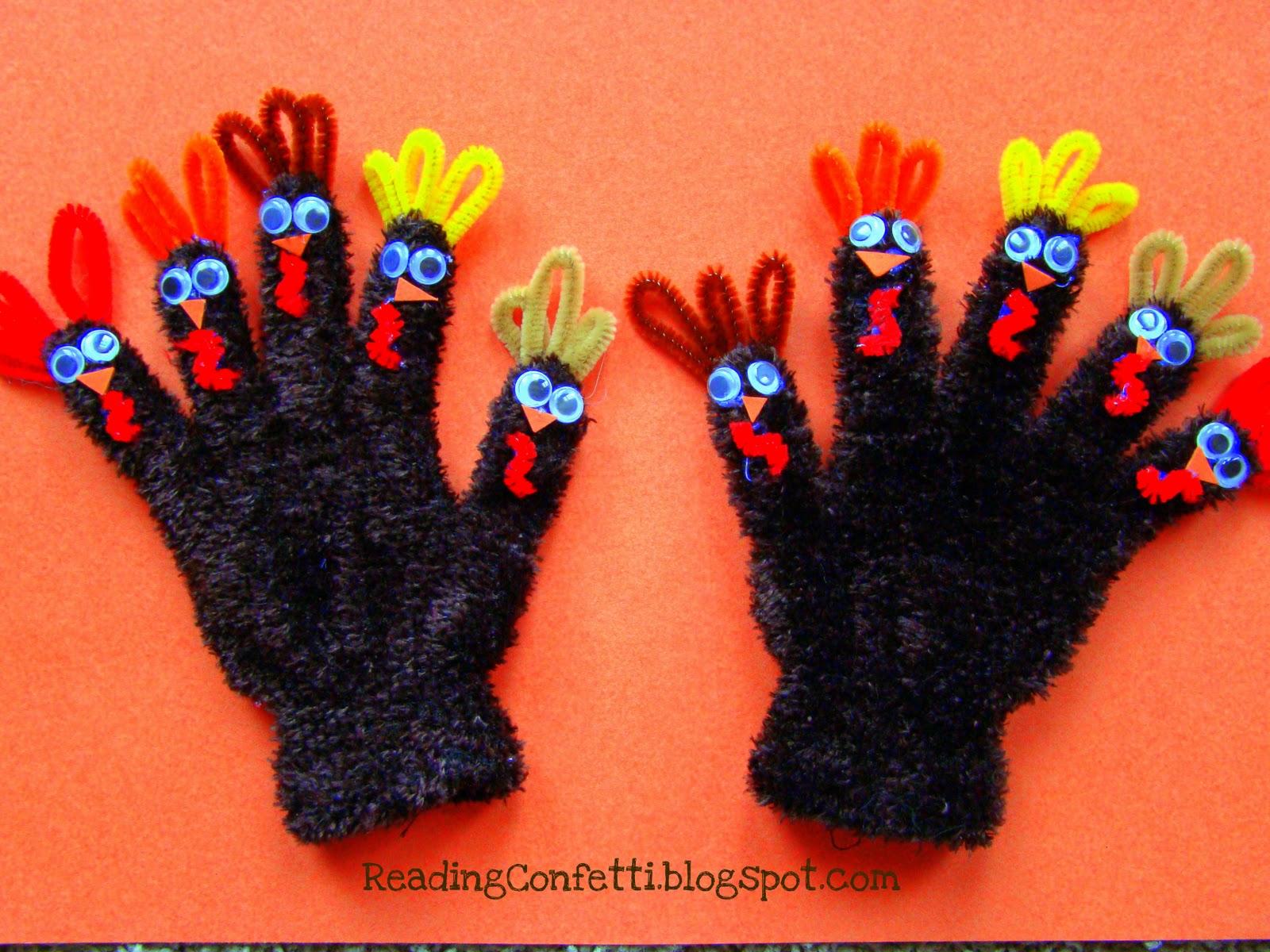 thanksgiving fingerplays for kindergarten