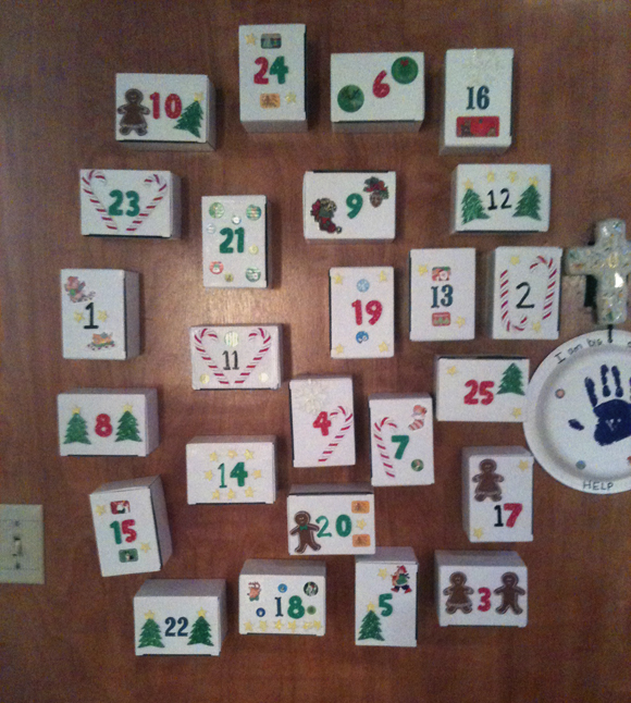 Box Advent Calendar