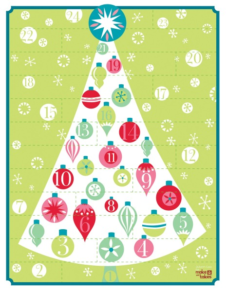 Advent Calendar Printables : Advent calendar ideas dollar store crafts