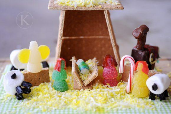 gingerbread nativity craft