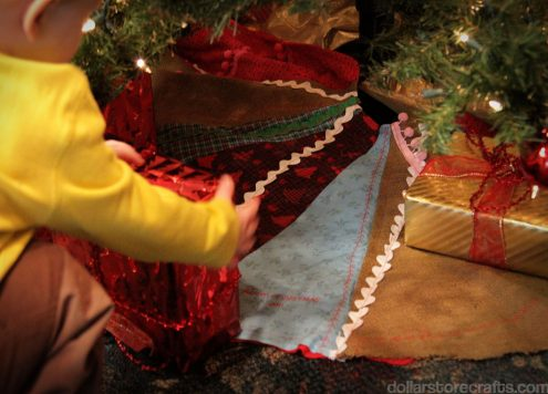 overdyed tree skirt