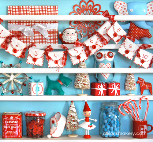 Peppermint Advent Calendar