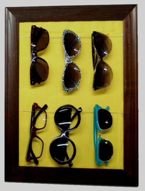 Make A Sunglasses Storage Rack 187 Dollar Store Crafts