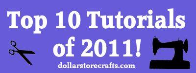 top 10 tutorials of 2011