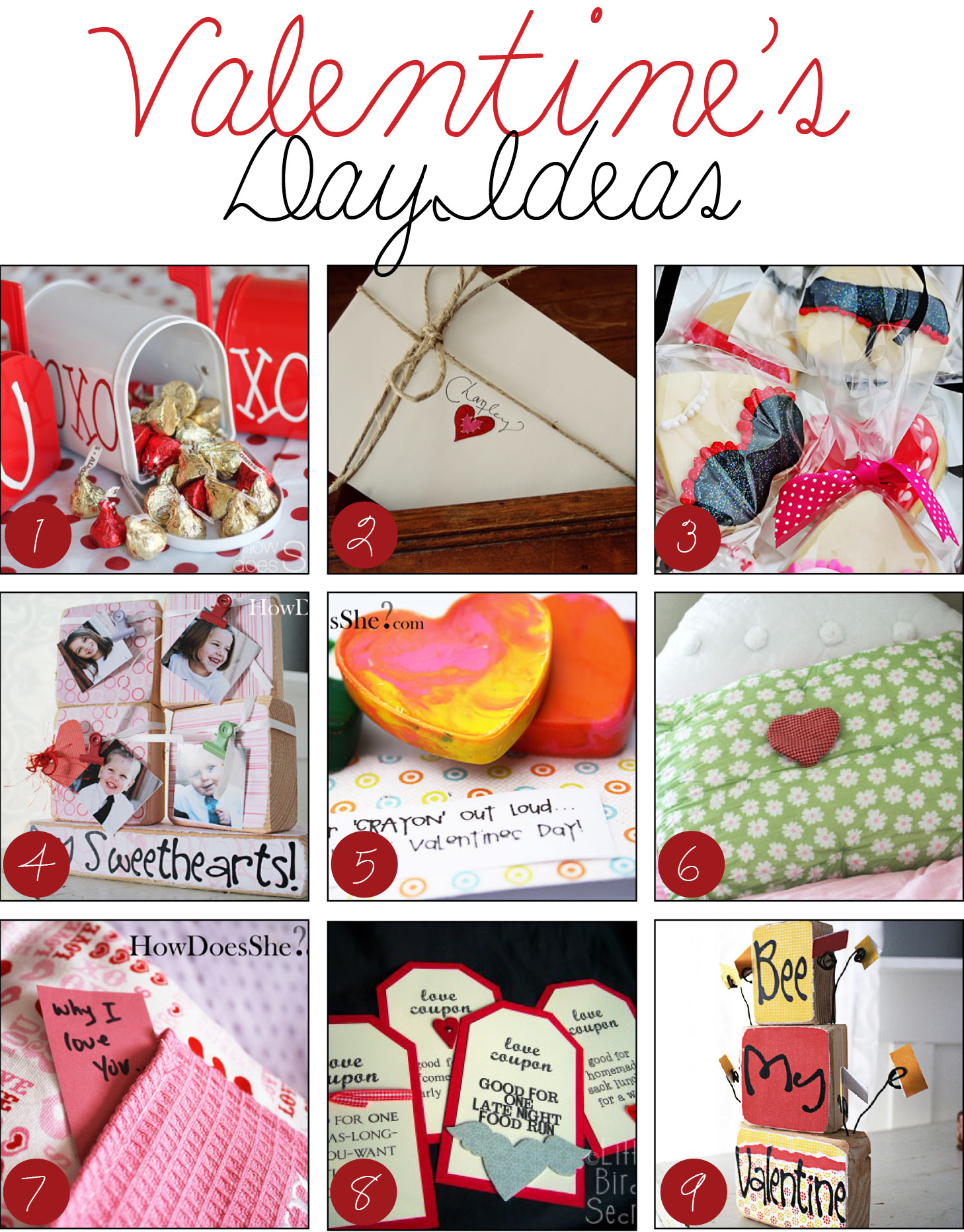 Over 50 love ly valentine s day ideas dollar store crafts for Crafts for valentines day ideas