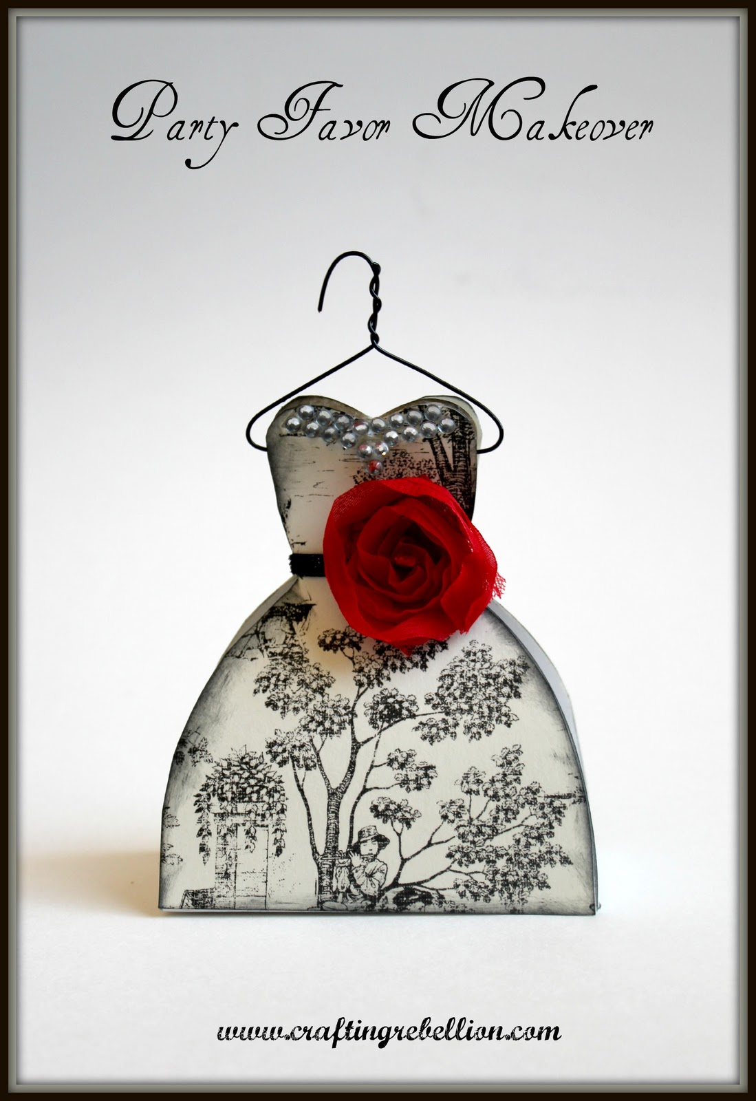Wedding Gown Favor Boxes: Ivory gown favor boxes hortense b hewitt the.
