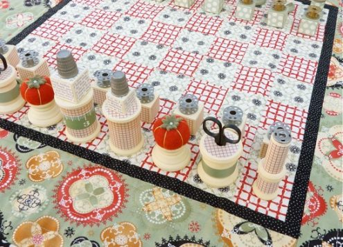 sewing chess set