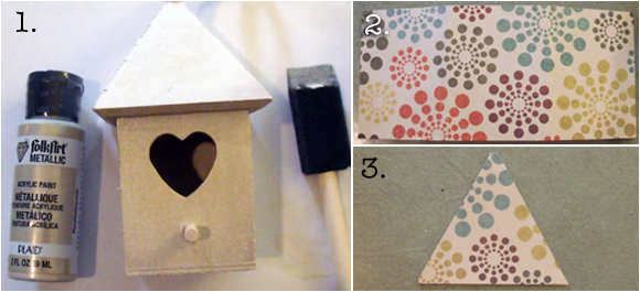 Excellent Make A Spring Bird House Dollar Store Crafts Interior Design Ideas Tzicisoteloinfo