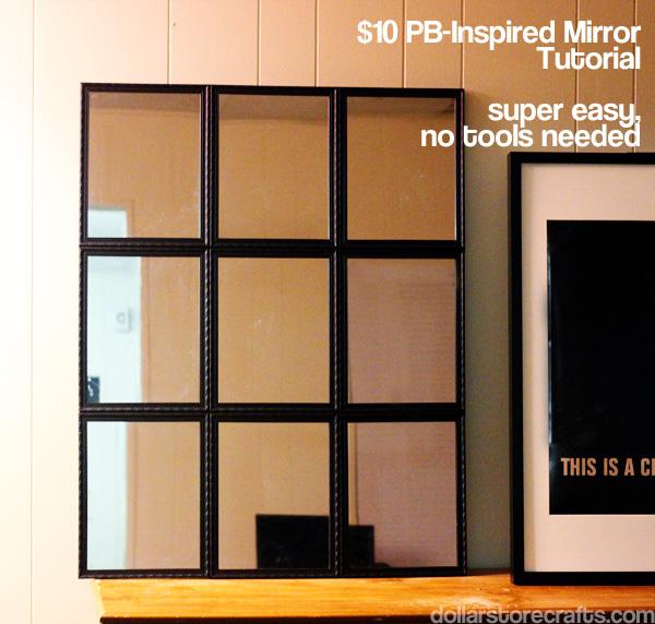 pb inspired mirror tutorial