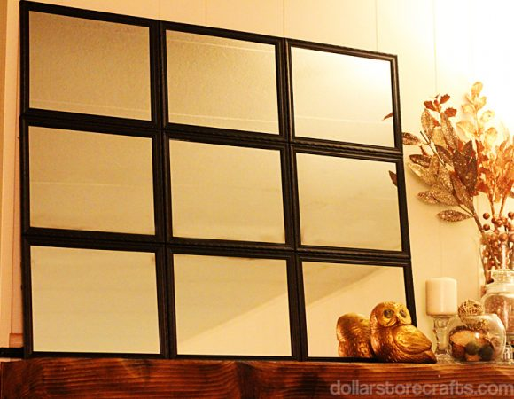 Tutorial Pb Inspired Tiled Mirror For 10 Dollar Store Crafts