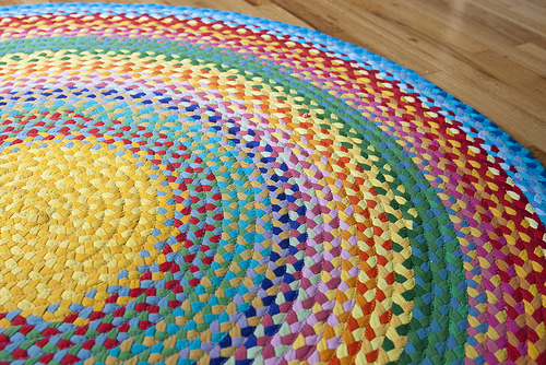 tshirt braided rug