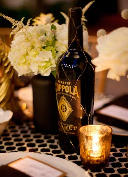 wedding chalkboard bottle