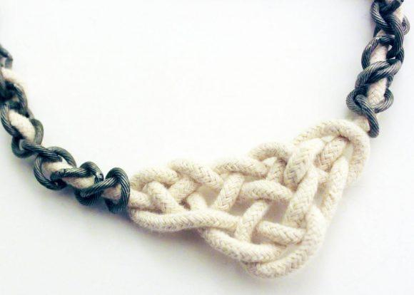 Make a Celtic Knot Necklace » Dollar Store Crafts