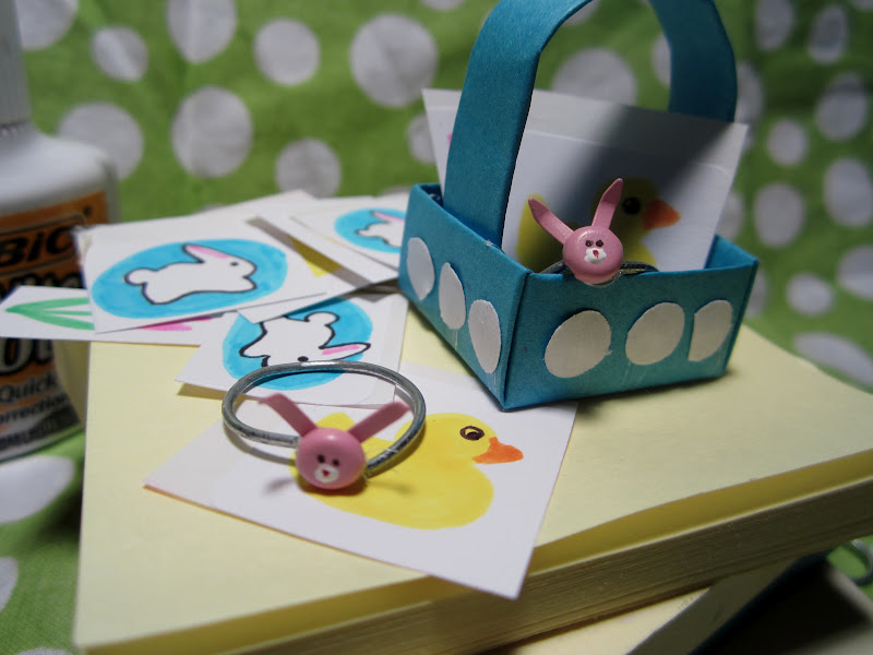 Make easter gifts from office supplies dollar store crafts if negle Images