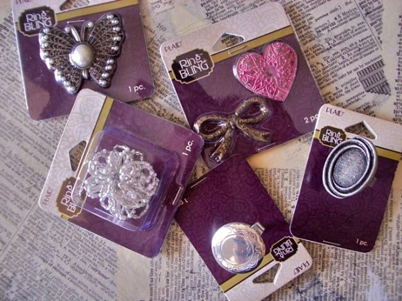 Ring Bling from Plaid Crafts; Photo by Candie Cooper - PlaidKidsCrafts.com