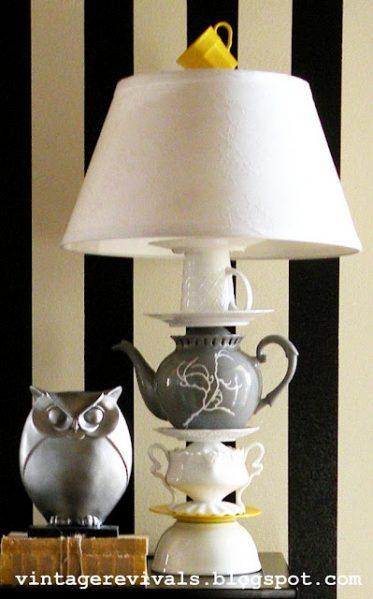 teaset lamp