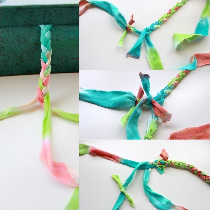 Crafts Using Fabric Strips