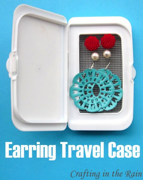 earring travel case