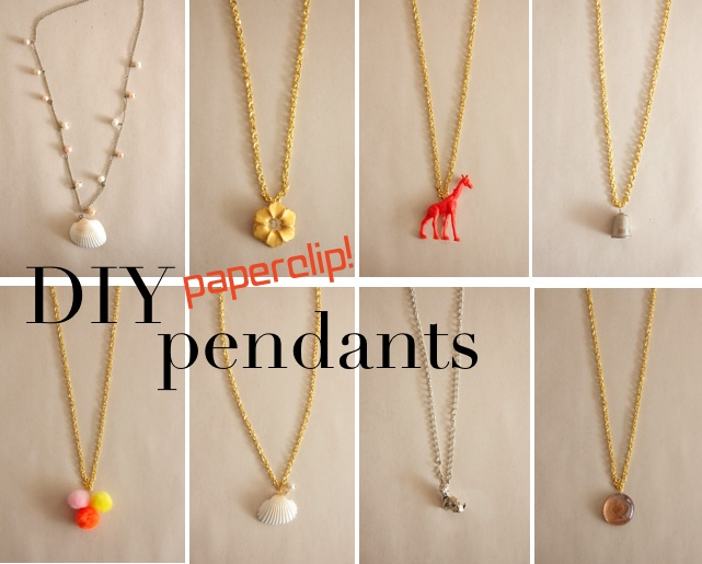 Make Paperclip Jewelry Bails Dollar Store Crafts