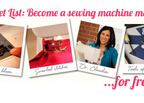 sewing machine master