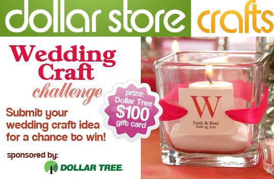 Craft Wedding Gifts: Craft Challenge: Wedding Crafts (prize: $100 Dollar Tree
