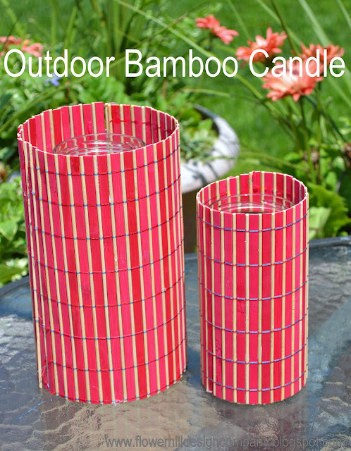 Bamboo Crafts Diy Candle Holders