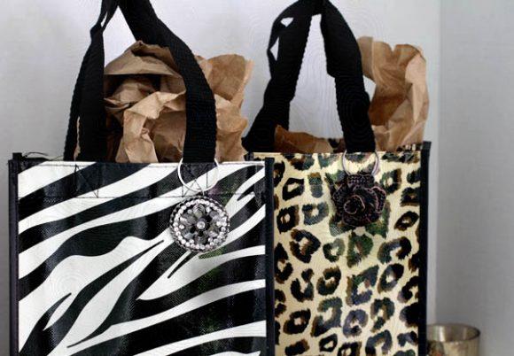 easy gift bag bling