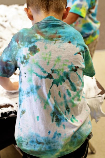 preschool tie dye
