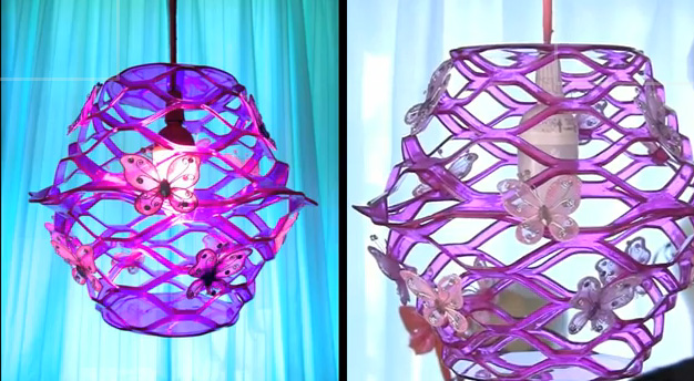 Make A Dollar Store Pendant Lamp 187 Dollar Store Crafts