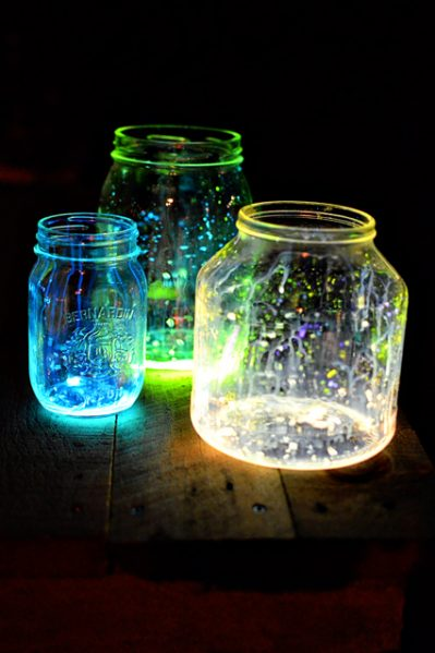 Glowing jars