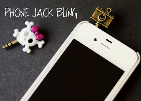 Make Phone Jack Bling