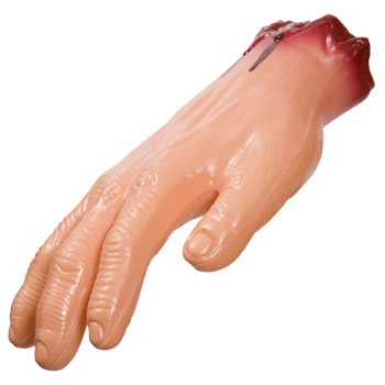 Plastic Severed Hands
