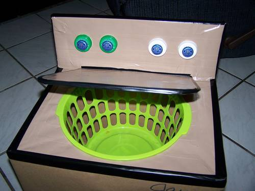 Make a Play Washing Machine