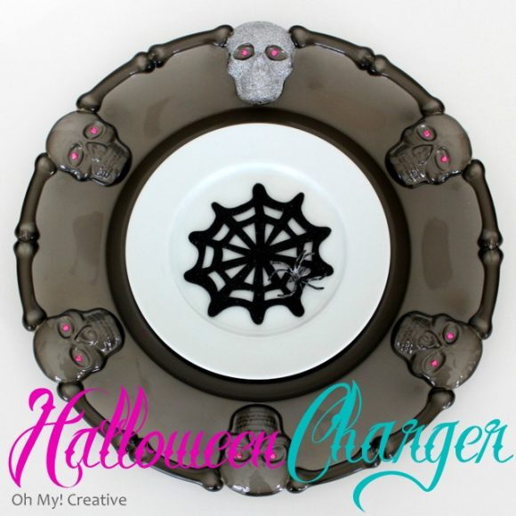 Make Halloween plate chargers (via dollarstorecrafts.com)