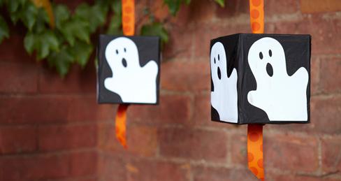 halloween tissue box pinata