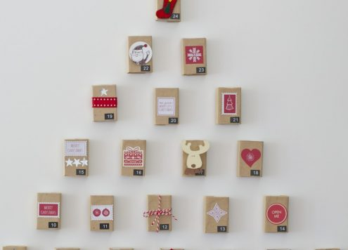 Make a Matchbox Advent Calendar (via dollarstorecrafts.com)