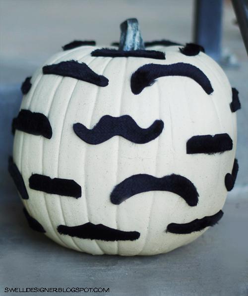 mustach pumpkin