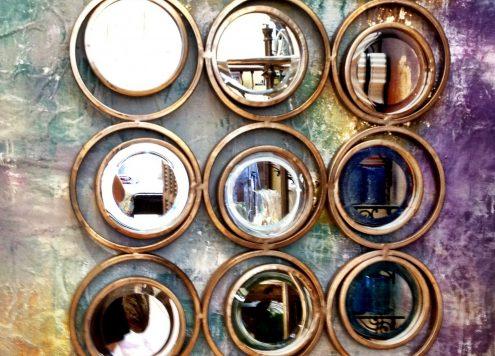 anthropologie knockoff mirror