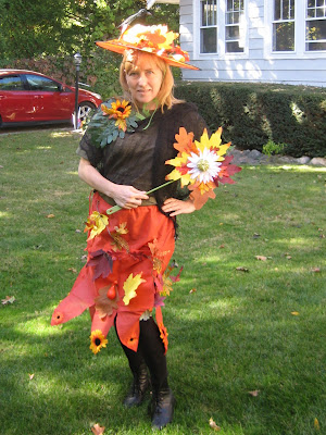 Mother Nature Halloween Costume (via dollarstorecrafts.com)