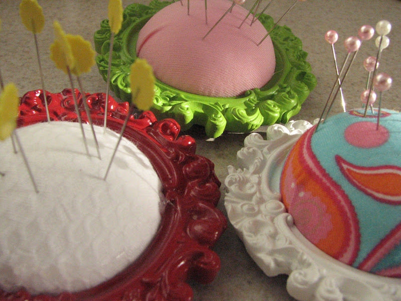 Make Picture Frame Pin Cushions 187 Dollar Store Crafts