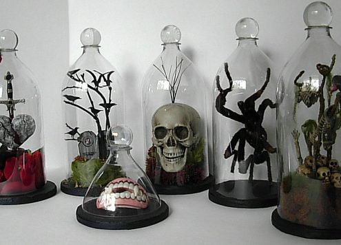 Make soda bottle bell jars (via dollarstorecrafts.com)